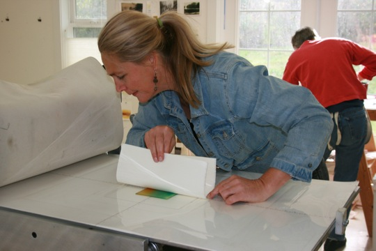 Making Monotypes Workshop with Wendy Orville