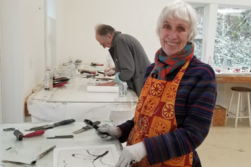 Printmaking Parties with Wendy Orville